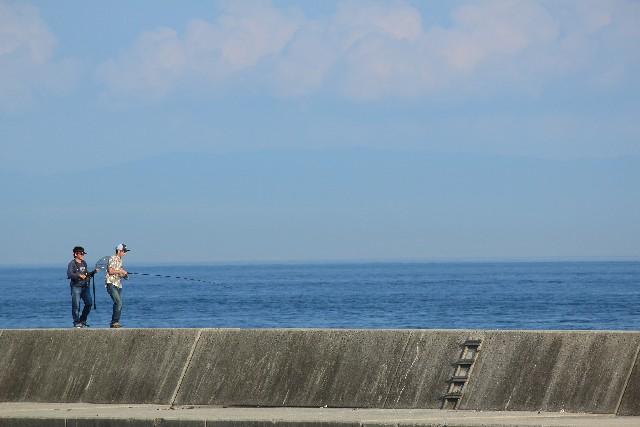 釣りの同伴・同行